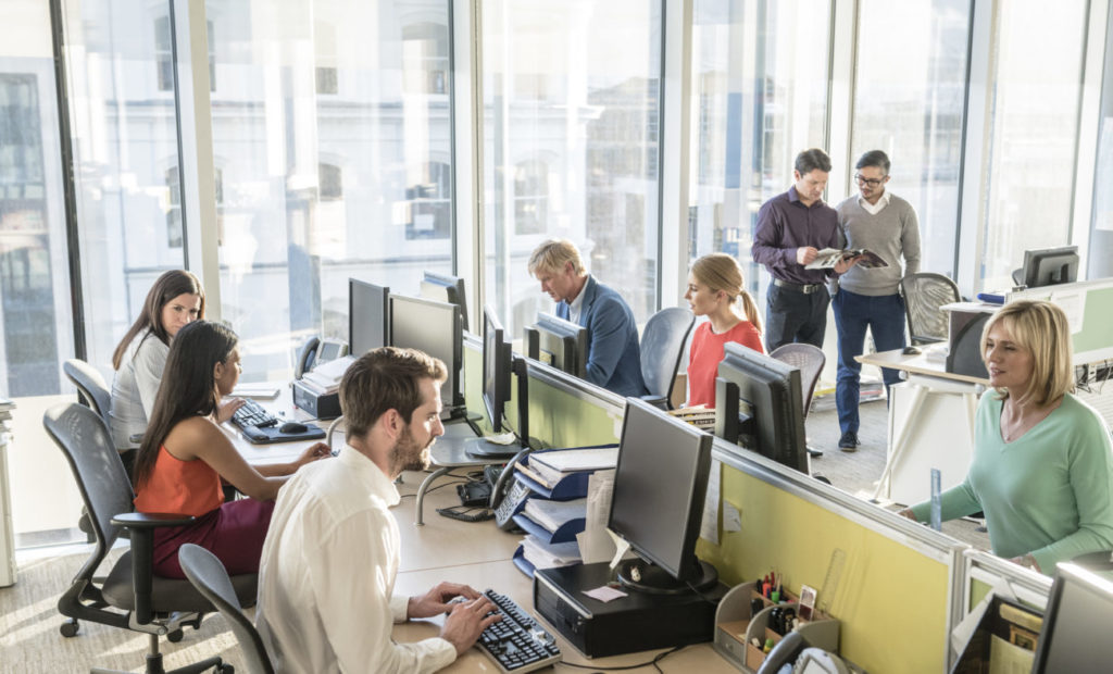 Bureau de travail Dublin PME